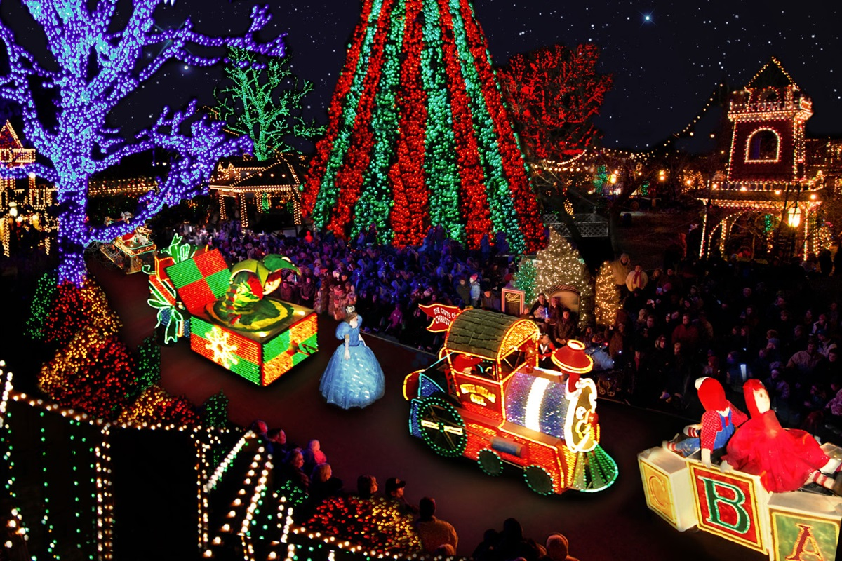With over six million lights, Christmas at Silver Dollar City is special (BCVB)