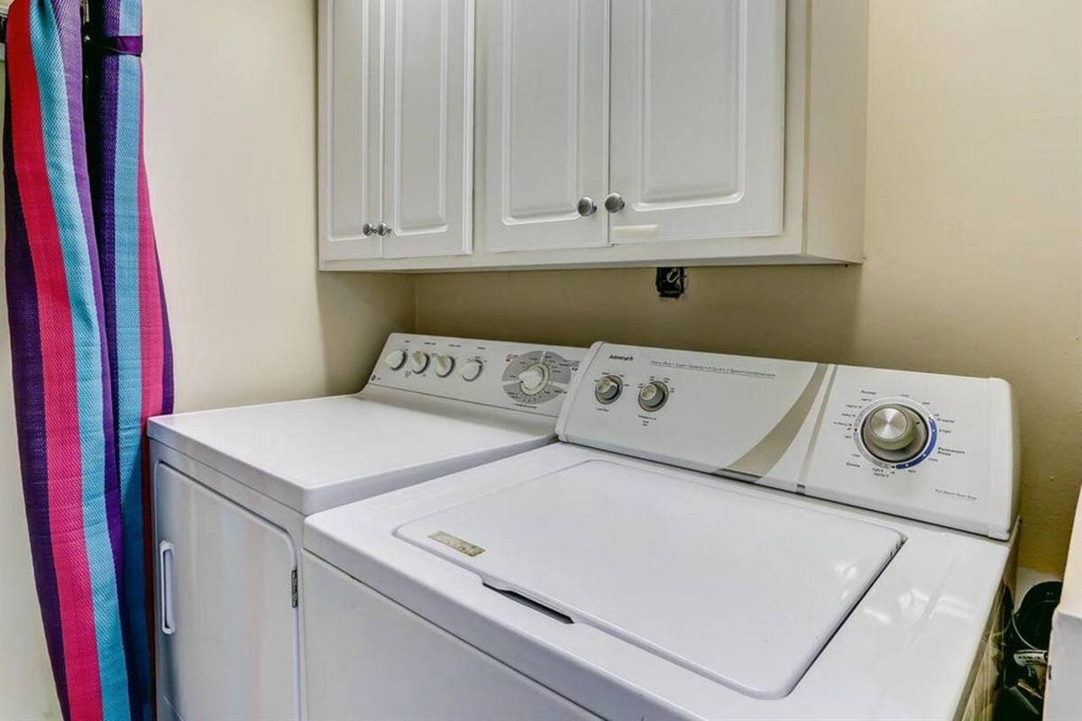 Laundry Room/Mats for the Beach!