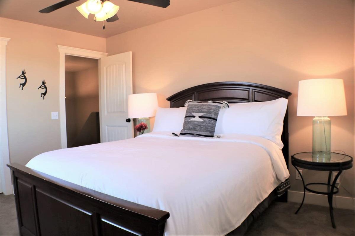 Suite #2 with queen bed