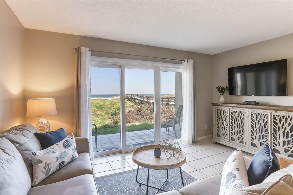 Living Room Access to Balcony