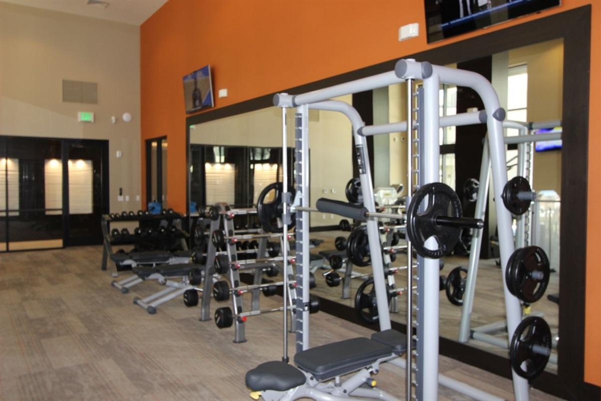 Always open fitness center.