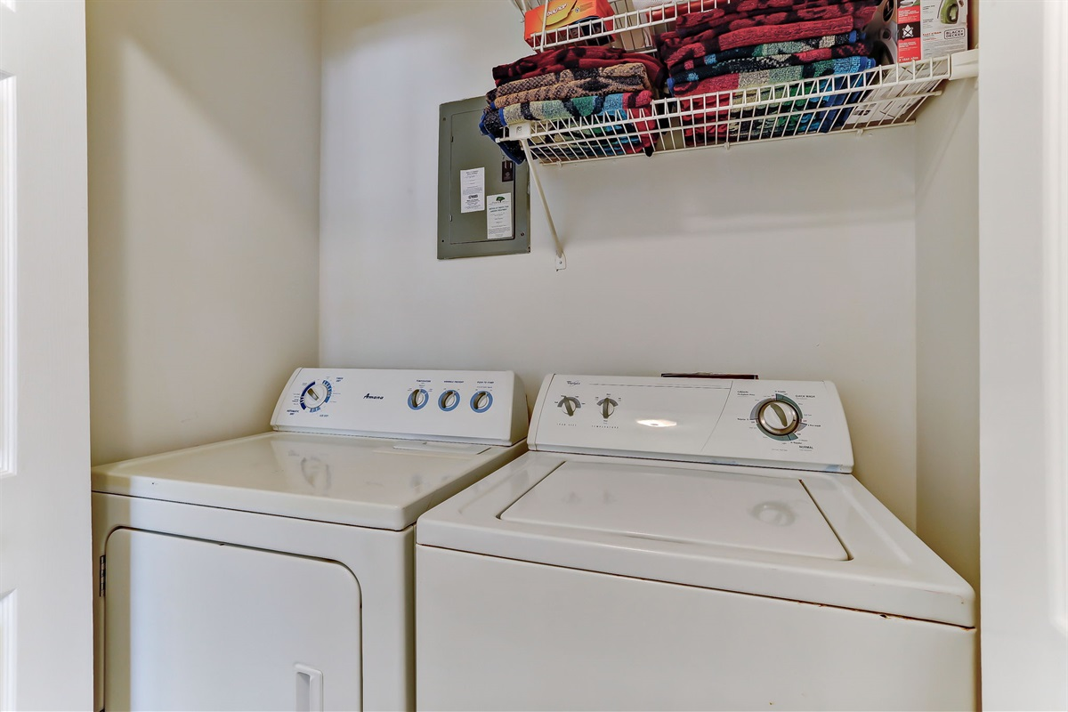 Full Washer & Dryer in Unit