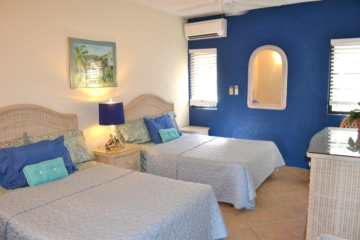 Bedroom #2 (two queen beds)