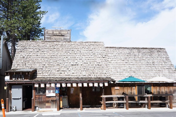 Lube Room Saloon - just a mile up the highway & our favorite local former dive bar & restaurant