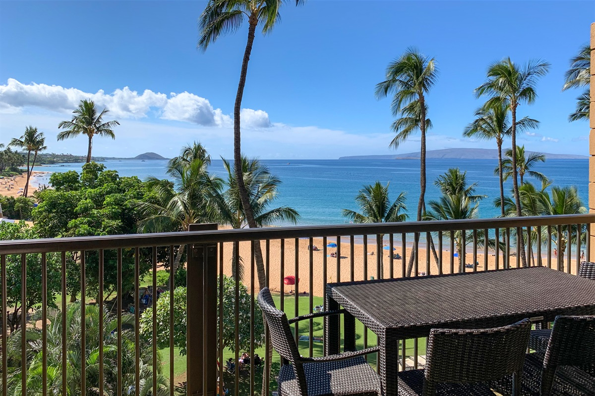 Beach and outer island views from your living room