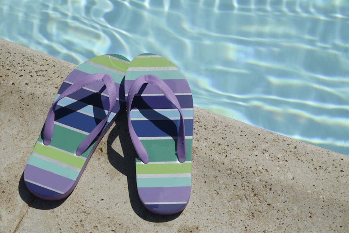 Flip flops and fun.