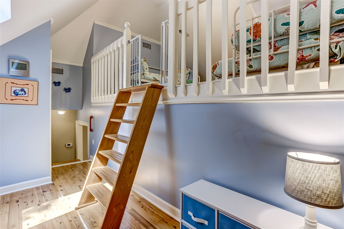 Best Use of Space - Loft Area for Kids!