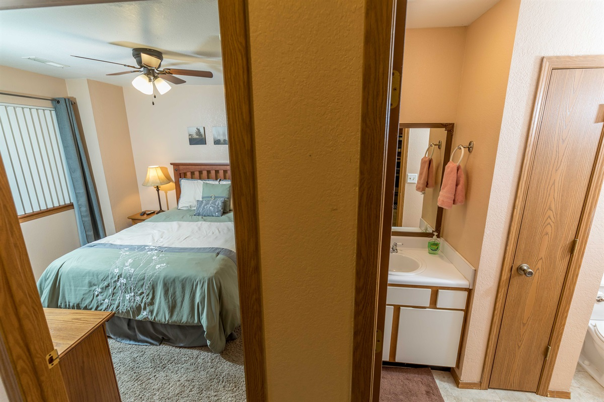 Enjoy the privacy of our split floor plan