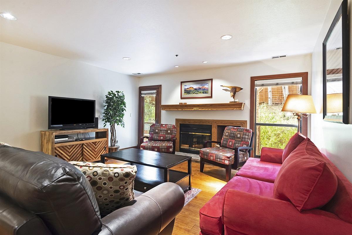 Living area - deck access