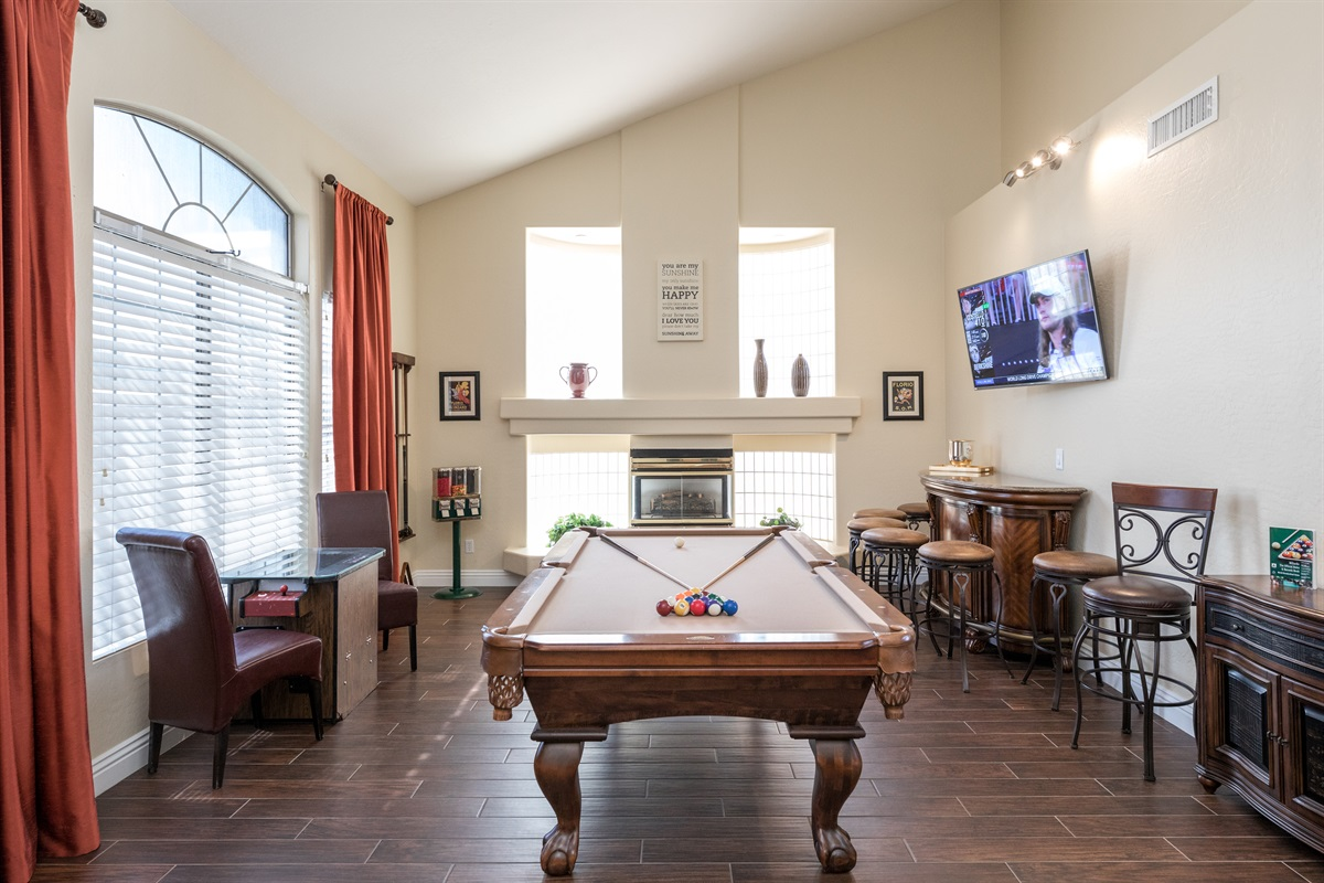 Fun game room