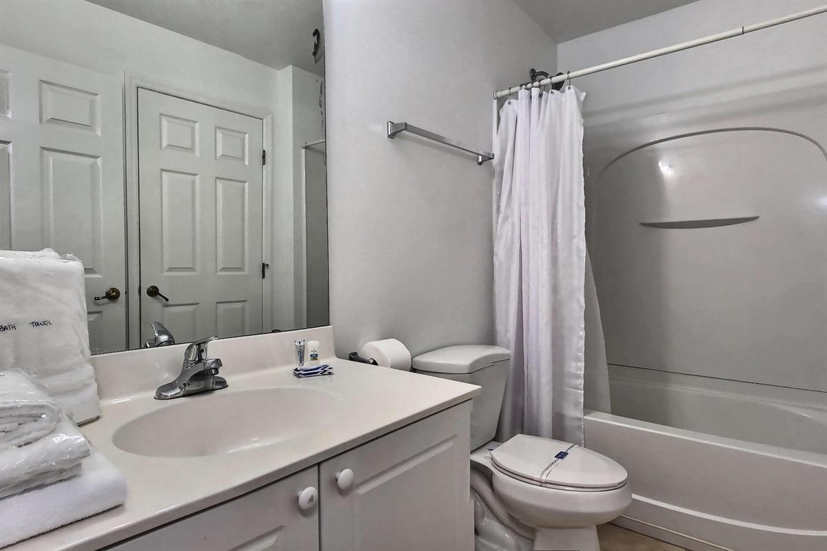enSuite Queen bathroom- Downstairs
