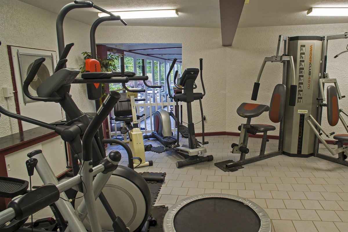 CVOC South Clubhouse fitness center