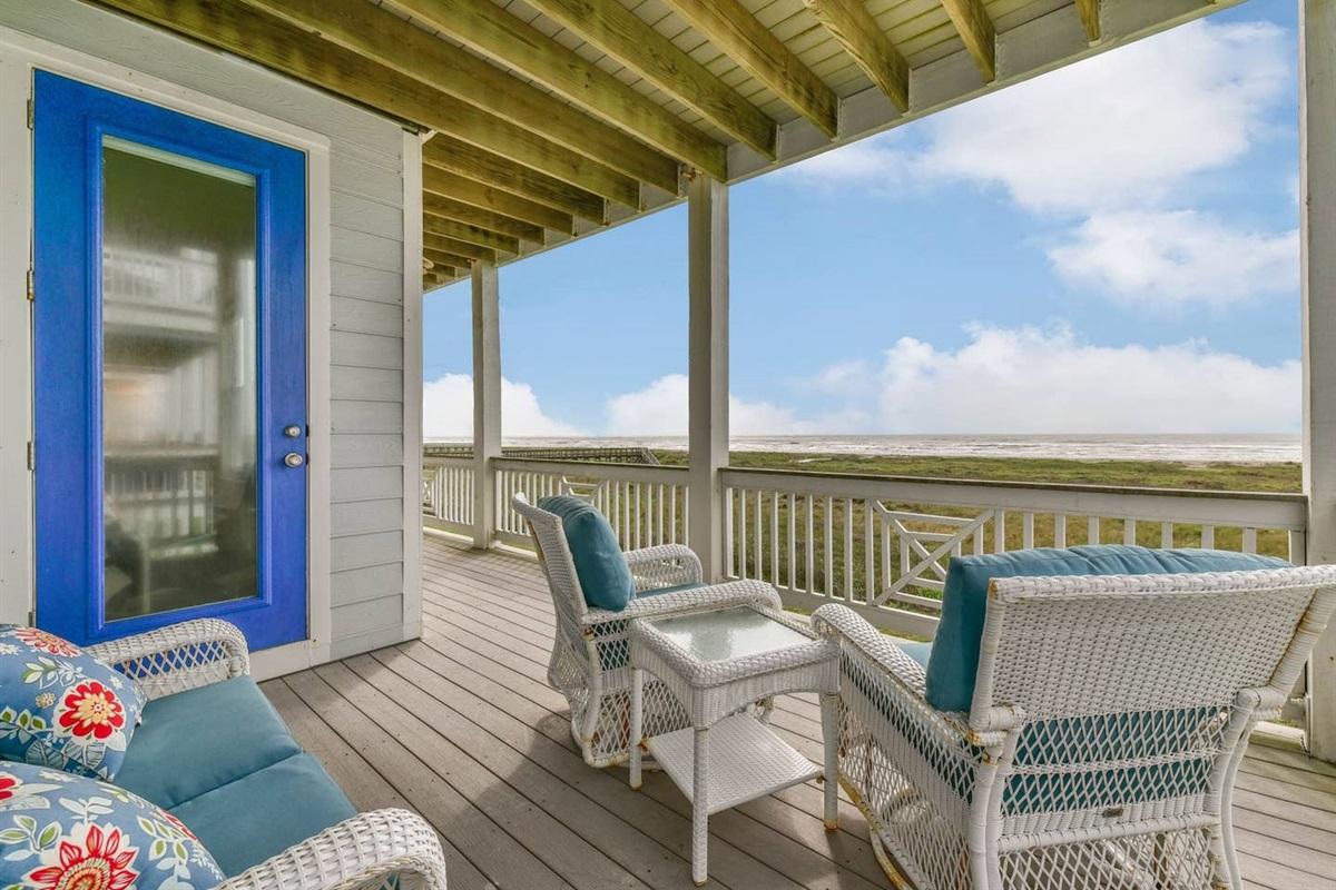 Seahorsing Around - Coastal Waves Vacations - Galveston Beachfront House in Pointe West