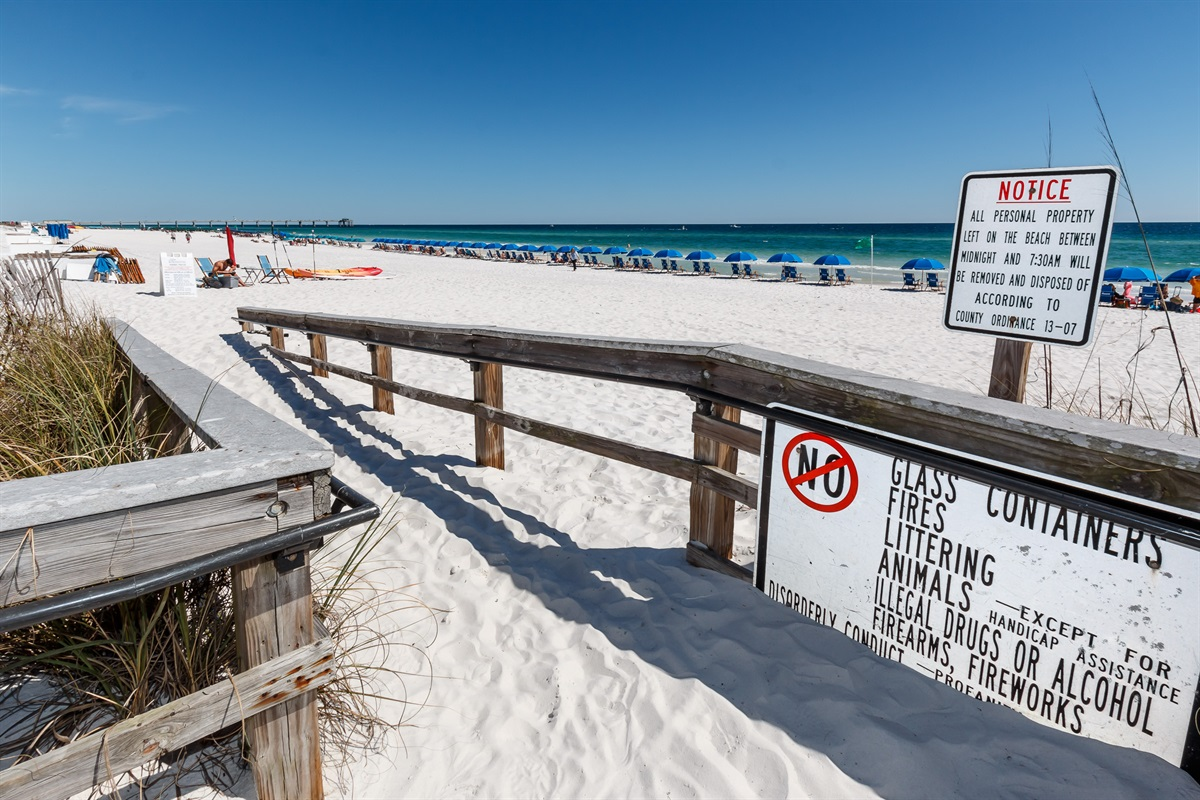 No Stairs to the Beach!