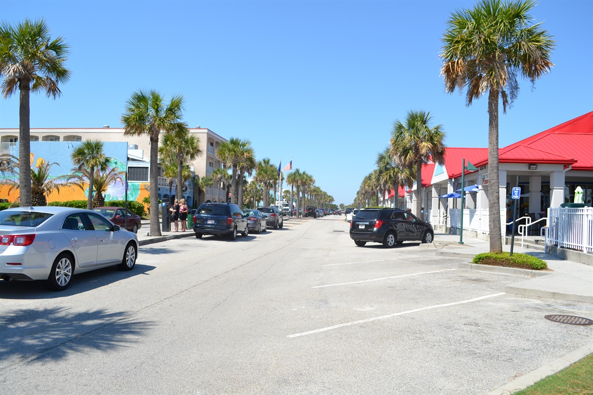 Ocean Blvd on Isle of Palms, just a block away