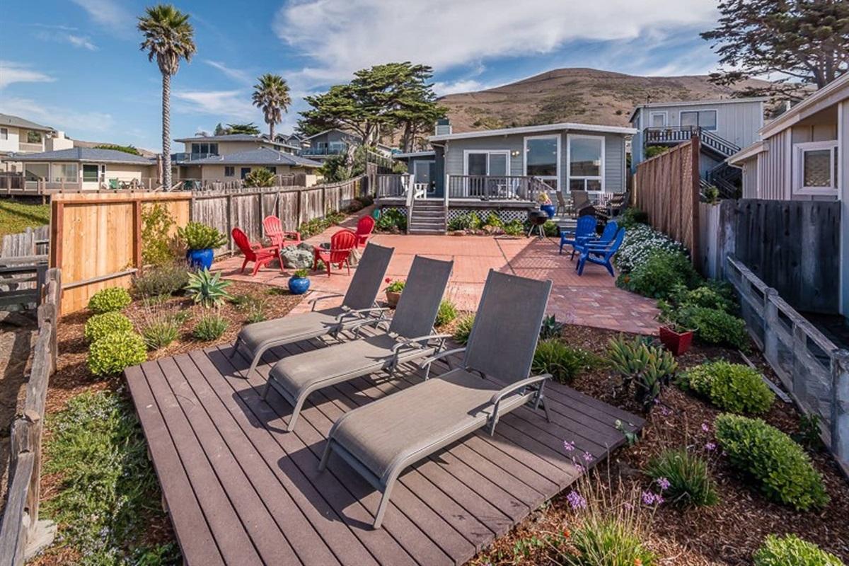 Double ocean front deck