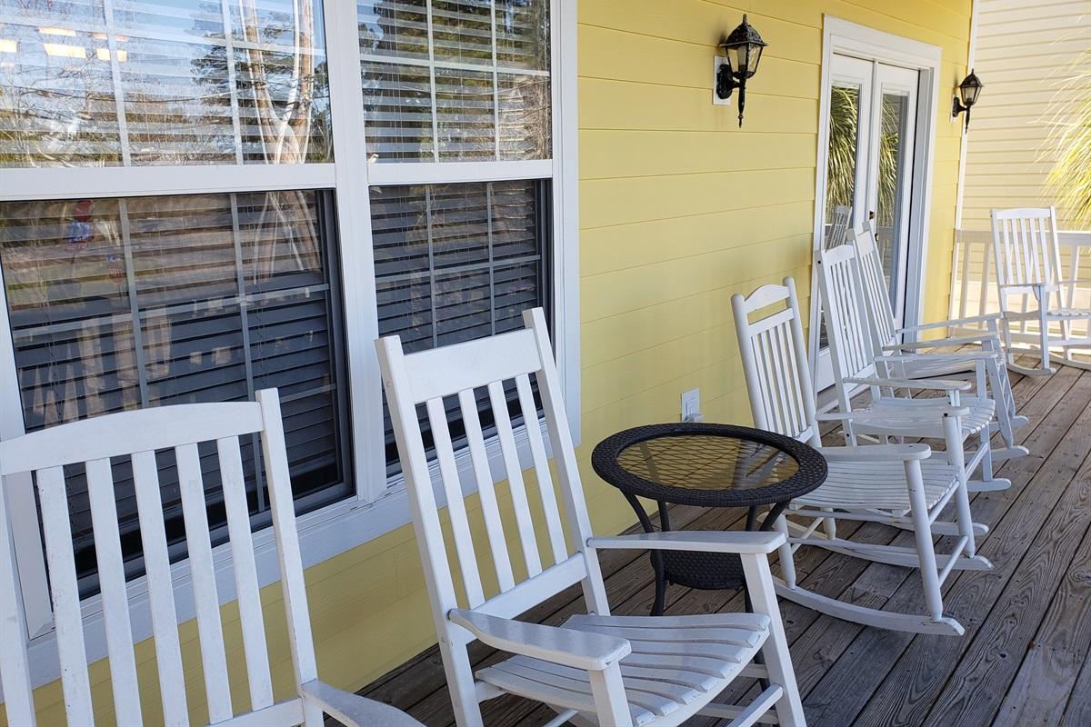 Front Main Level Porch
