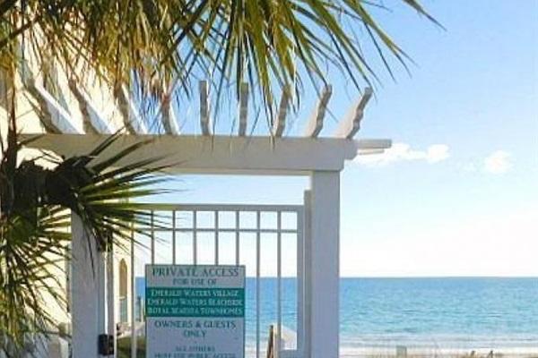 Deeded beach access.