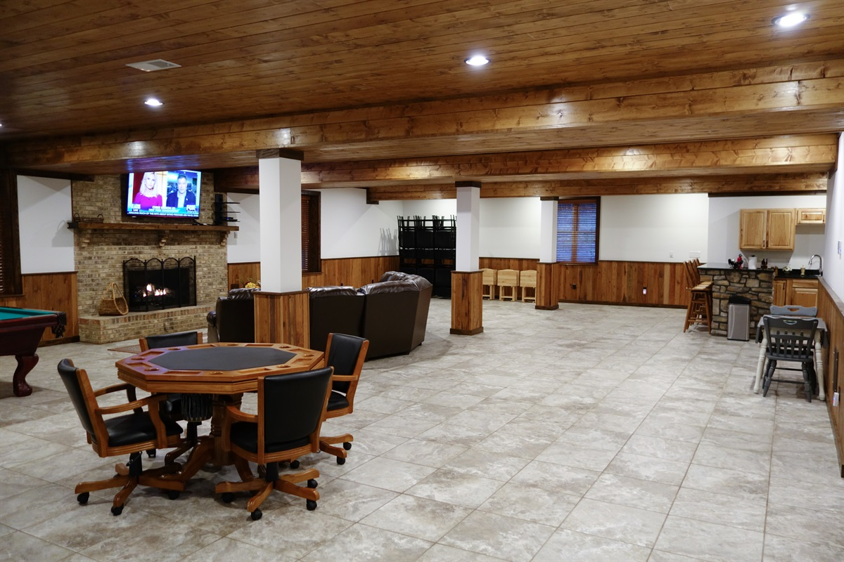Another view of event/game room