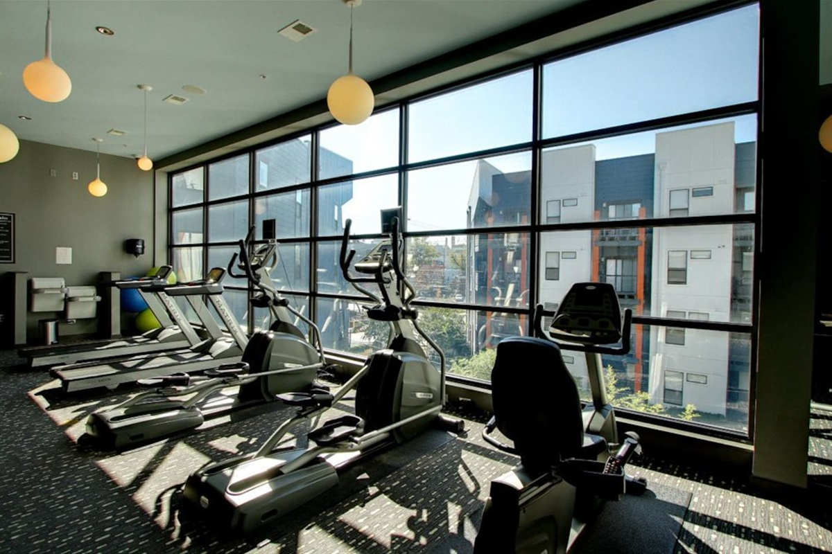 24/7 State of the Art Fitness Center!