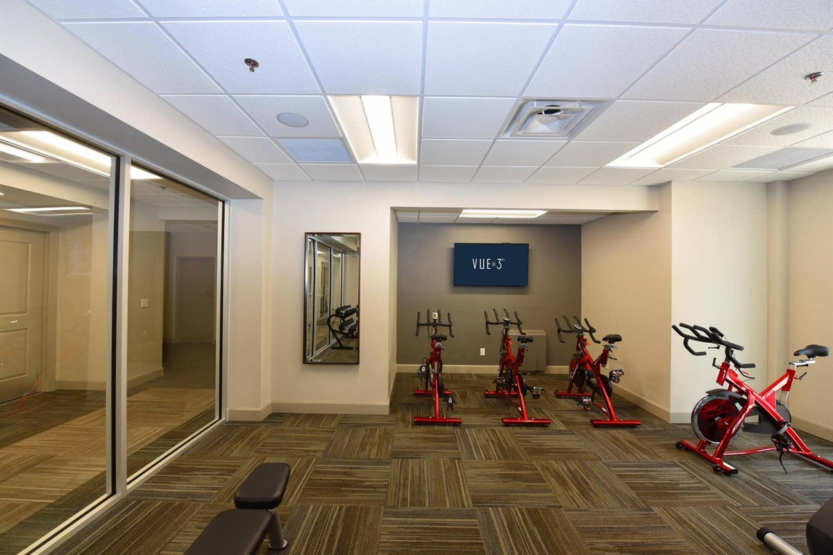 Fitness Center available to you 24 hours a day.