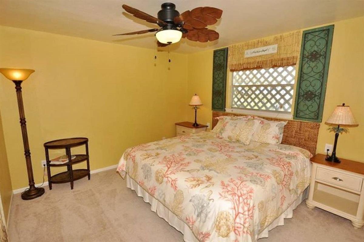 Primary  Bedroom with King Bed