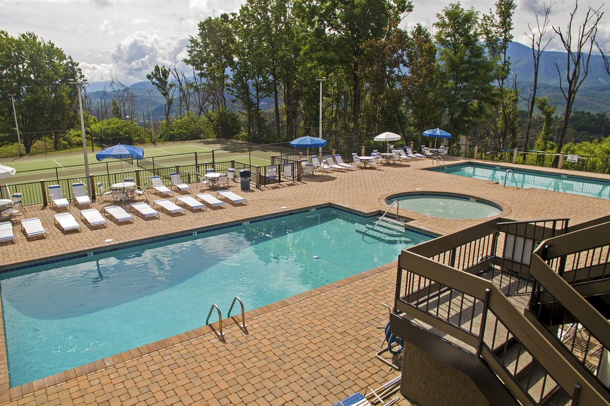 North Clubhouse Pools & Tennis Courts