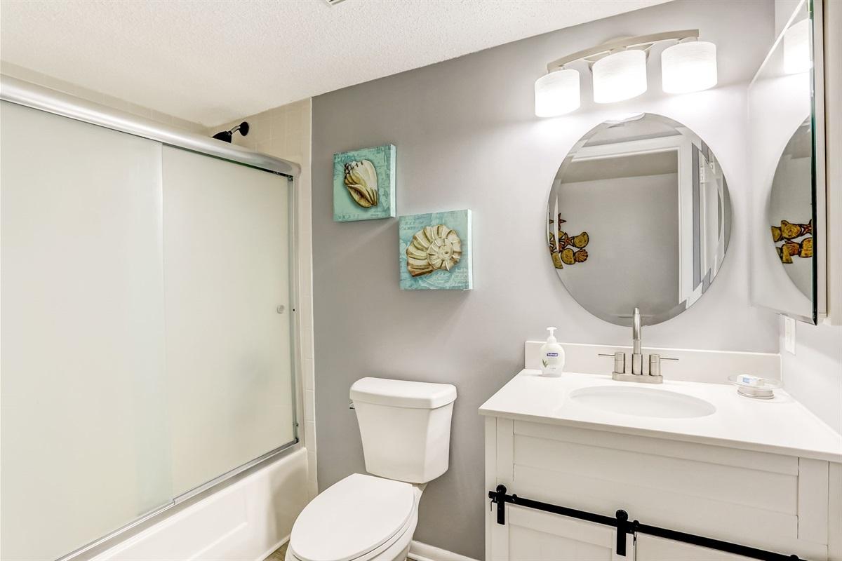 Twin Bedroom Full Bathroom