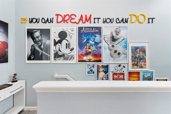 Our favorite motivational quote, by yours truly Walt Disney.