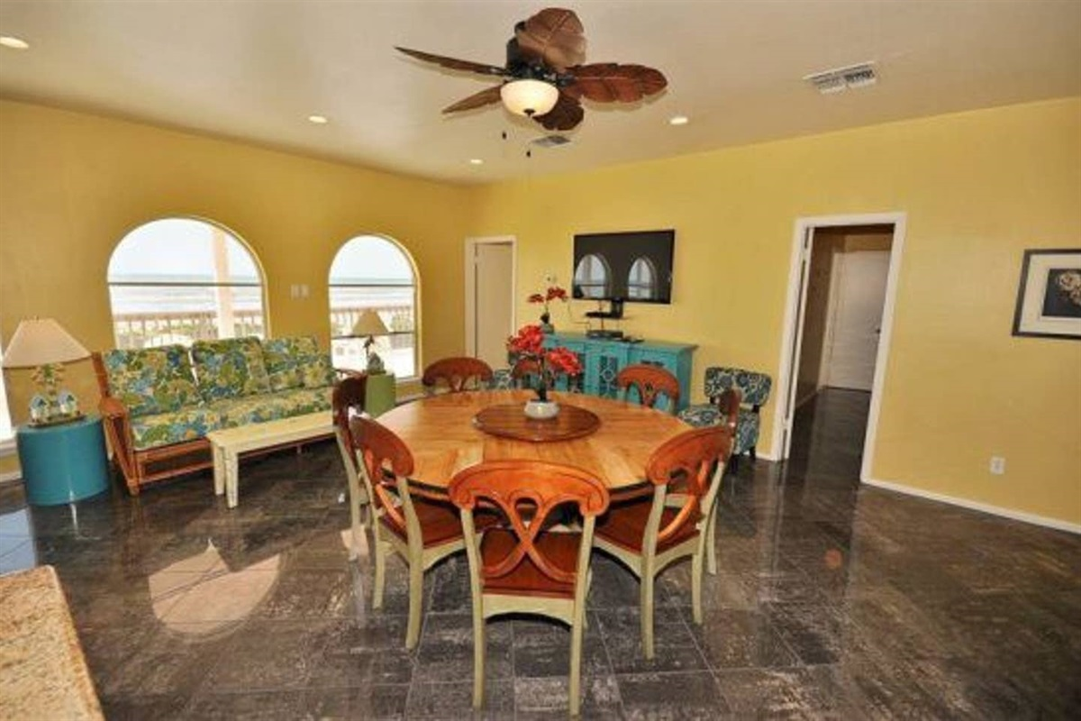 Kitchen Table Seats Up to 8