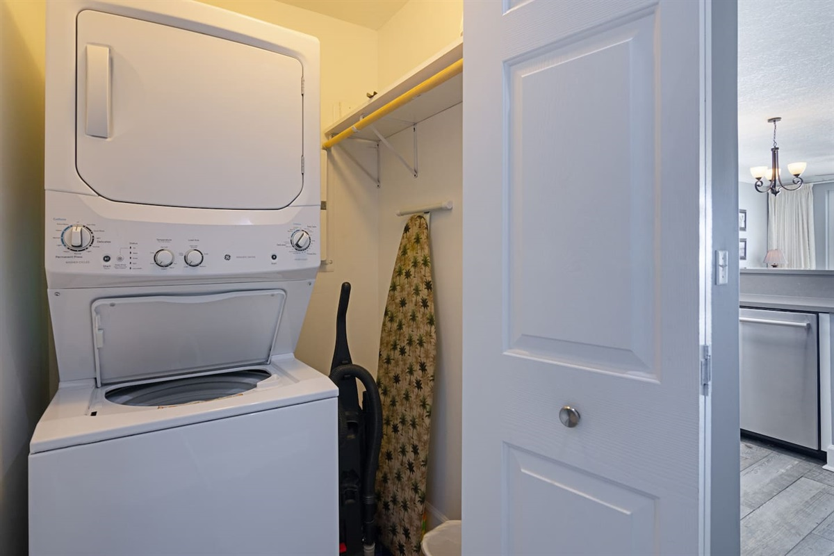 Convenient washer and dryer