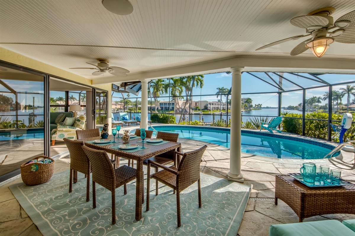 Phenomenal water views from the lanai