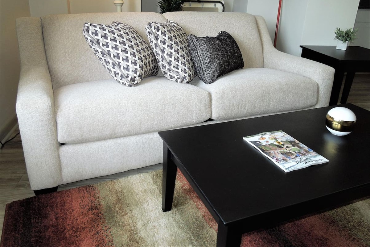 Sleeper sofa with full size pullout