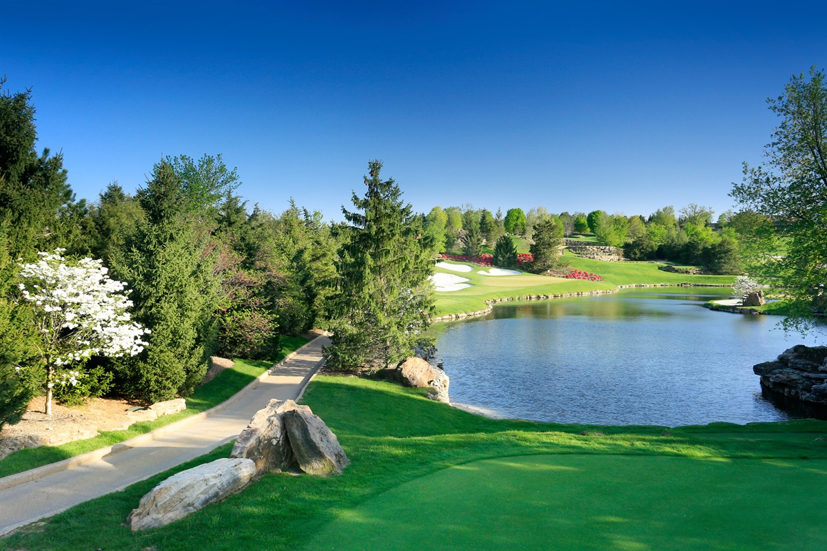 13 golf courses across the region offer a variety of experiences!