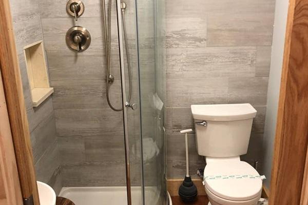 Queen Suite (bottom floor)  All NEW bathroom - 2019.