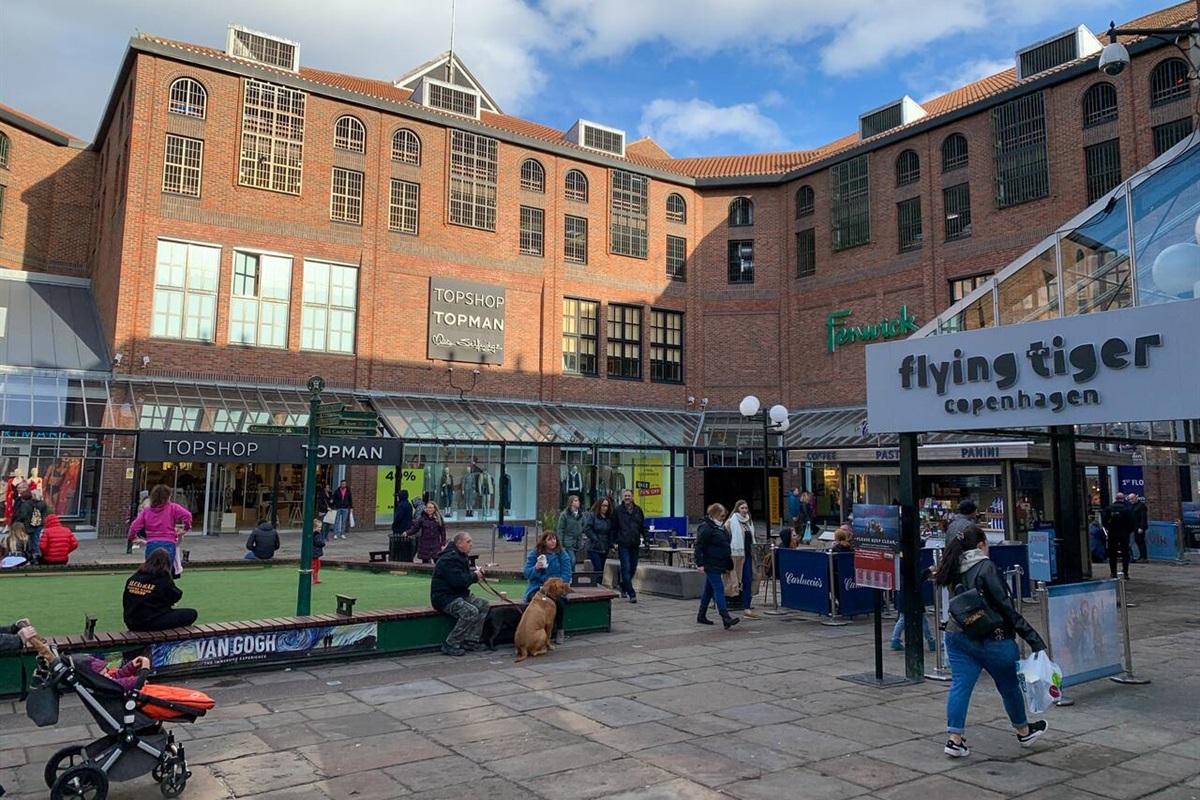 Coppergate Shopping Centre