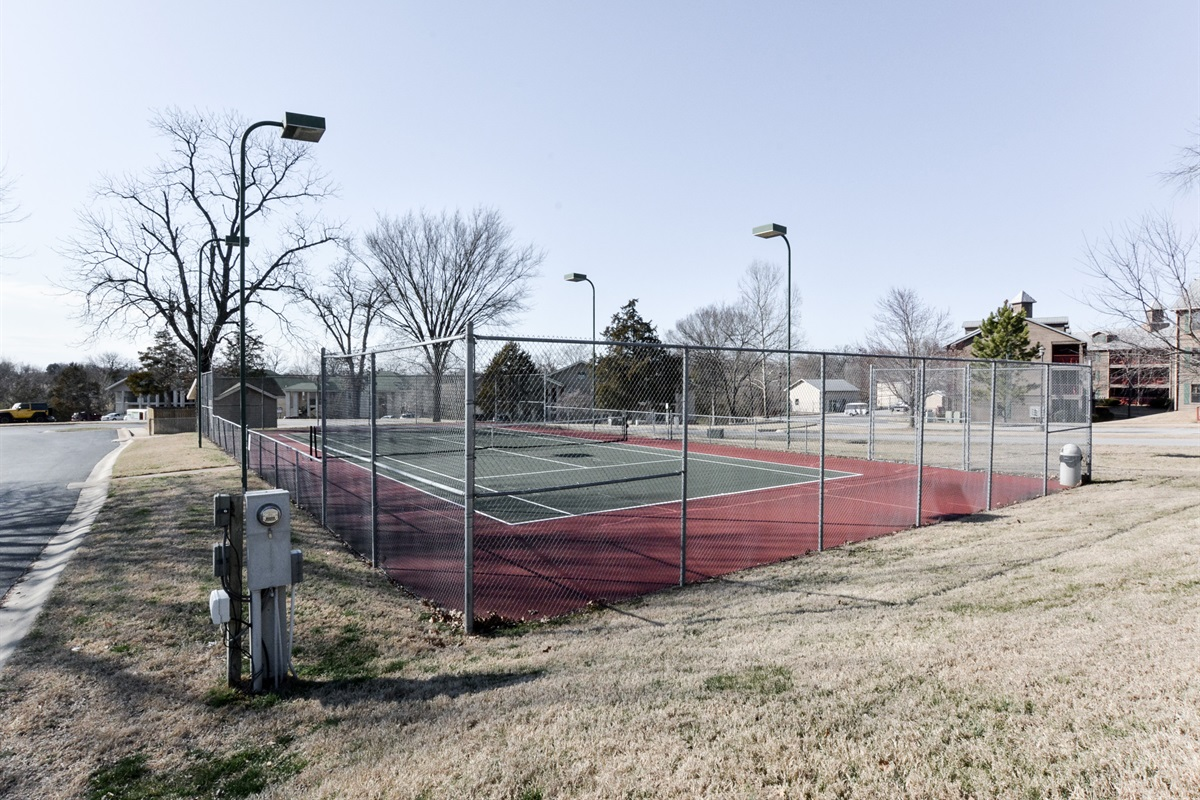 Recreational options abound at Holiday Hills! Courts are included for guests!