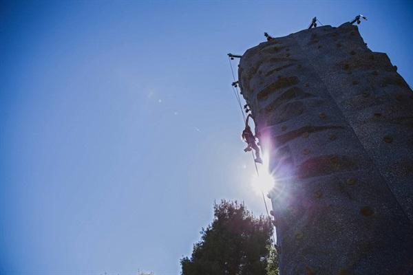 Climbing Tower at Moaning Cavern