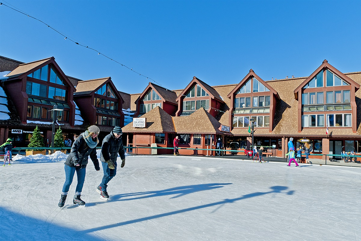 ice sking at Park City Resort