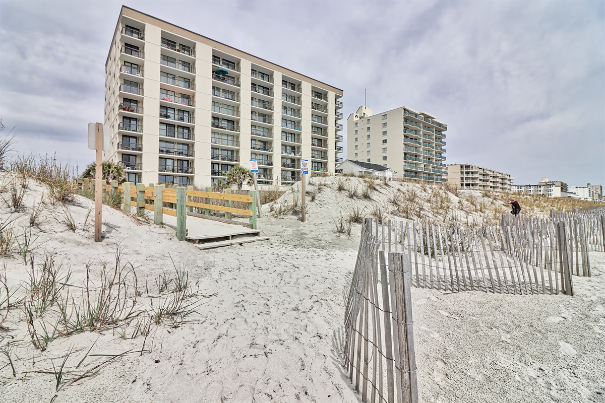 View of Waterpointe 1 From Beach