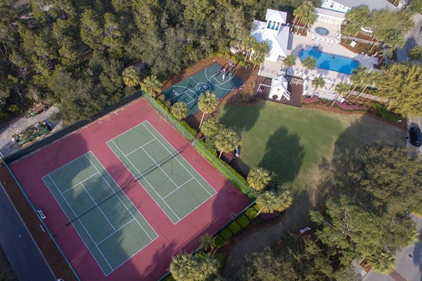 Amenities for Guests-2 tennis courts, basketball court, Bellview Park and Pool