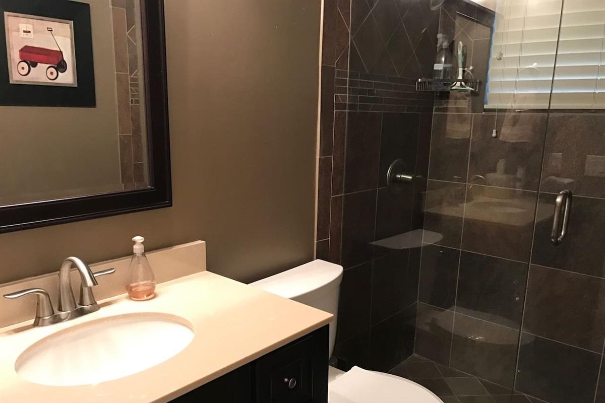 1st full bathroom