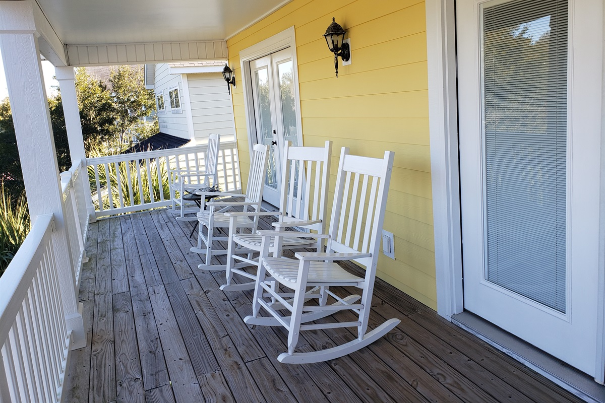 Upper Level Covered Porch