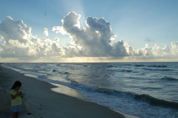 Serene sunrise walks on this beach only 1.5 blocks away