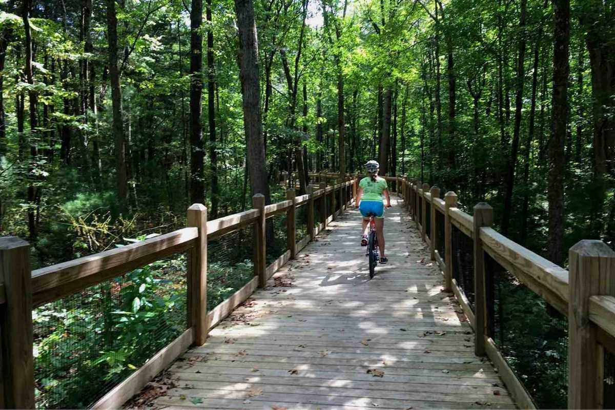 Bike Trails In Monteagle