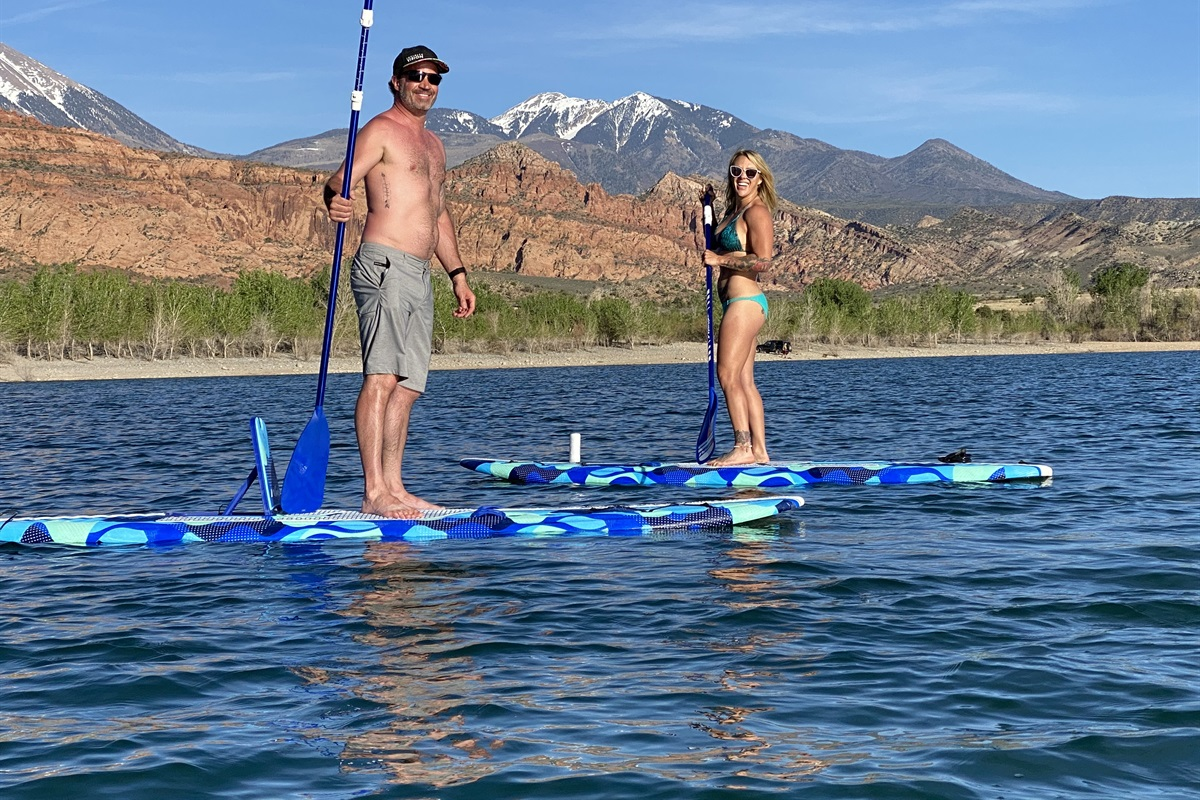Paddle Boards included lake 5 Minutes from house