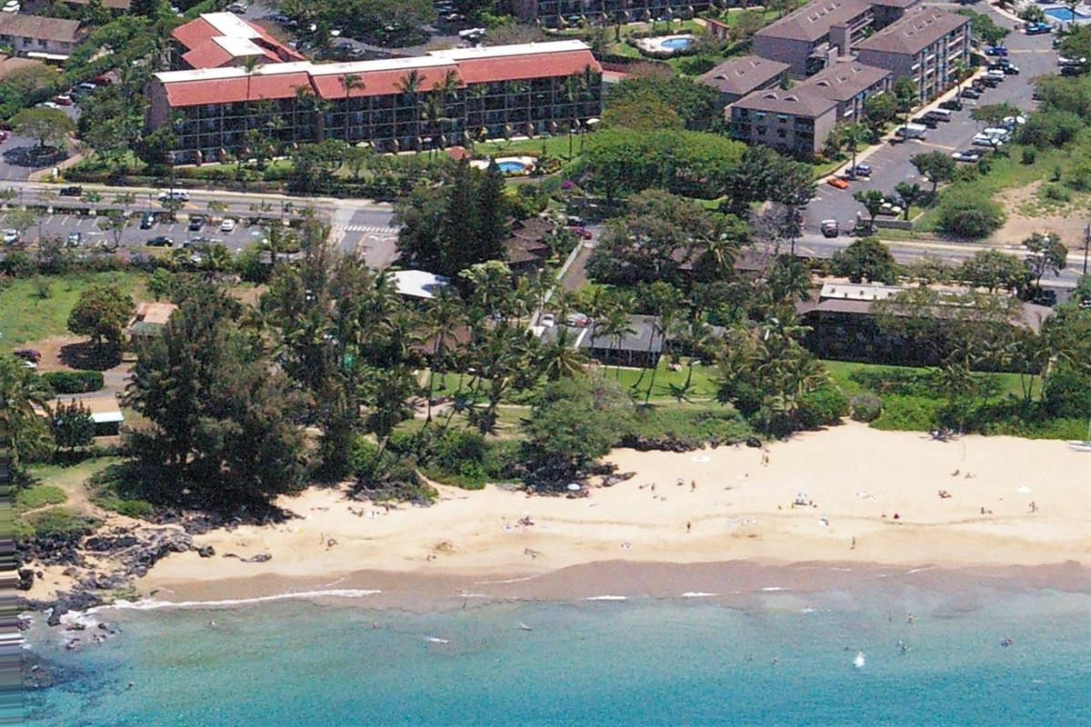 Maui Vista Resort, across the street from Kamaole I Beach