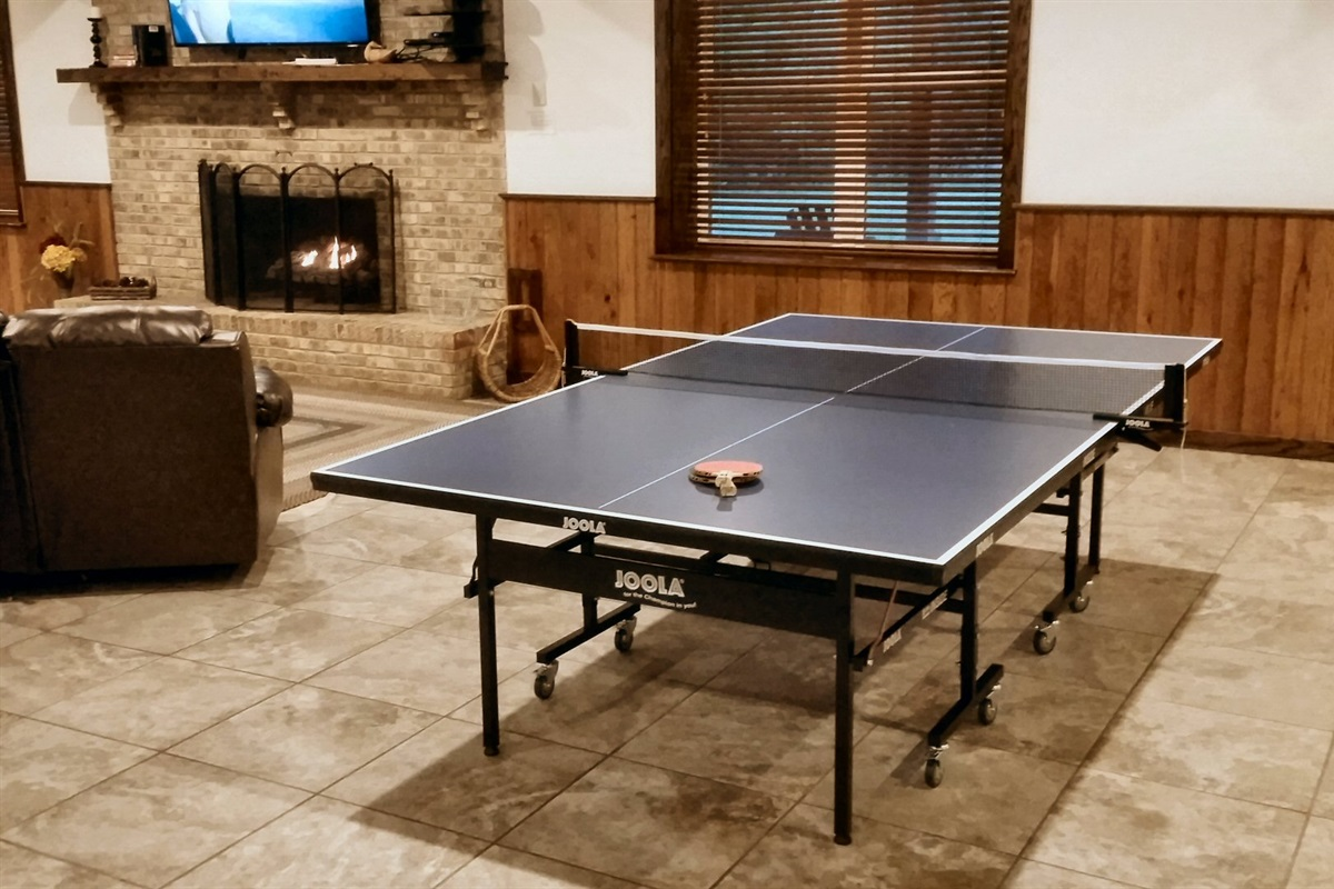 New ping-pong table added!