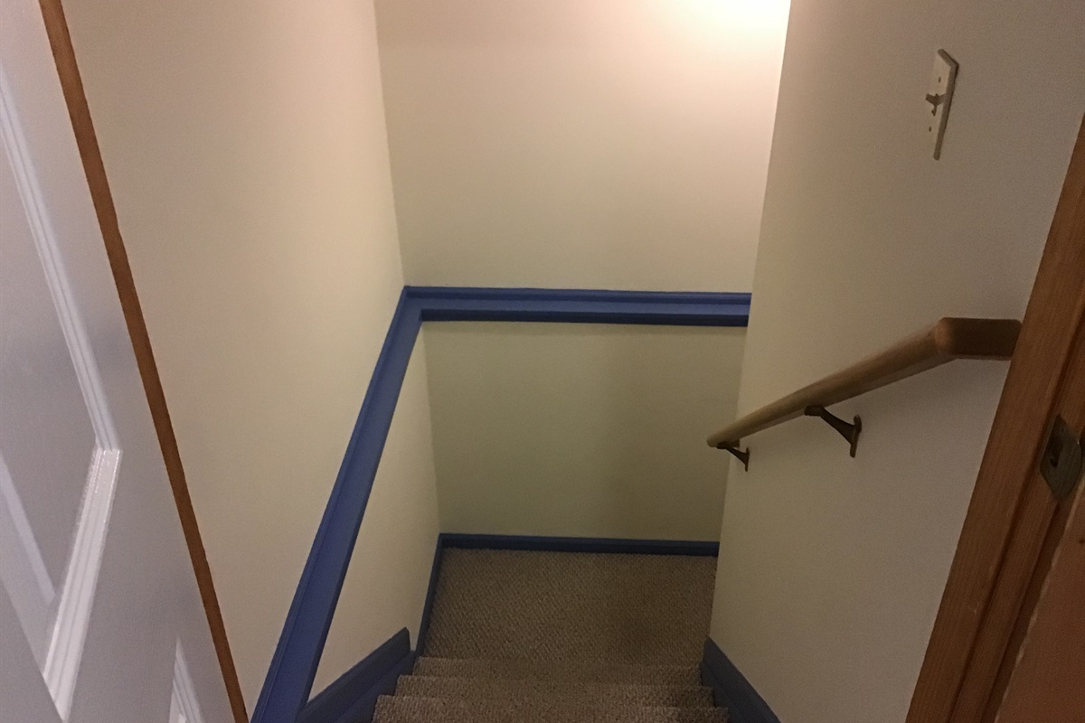 Stairway to Basement Suite