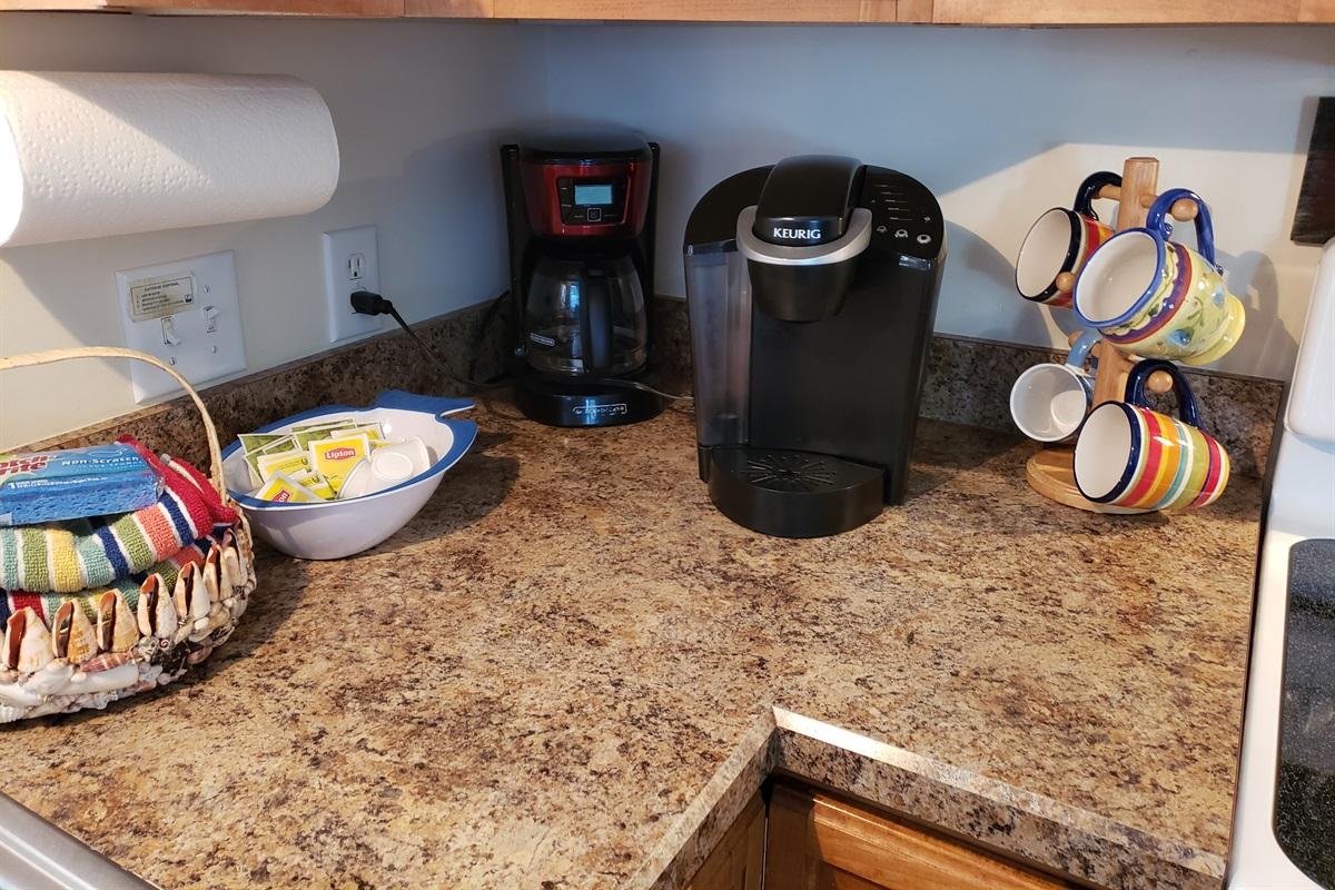 Keurig and Coffee Maker